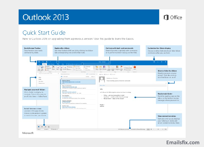 ATT.Net Email Settings For Outlook 2013