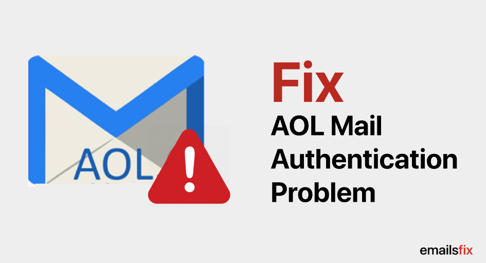 AOL Mail Authentication Problem