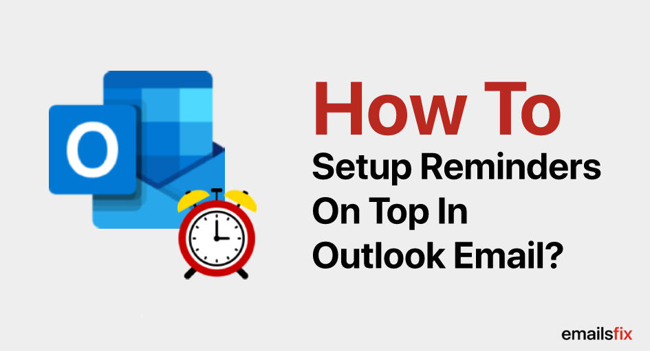 How to Set Up a Reminder in Outlook 2013 & 2016 Calendar