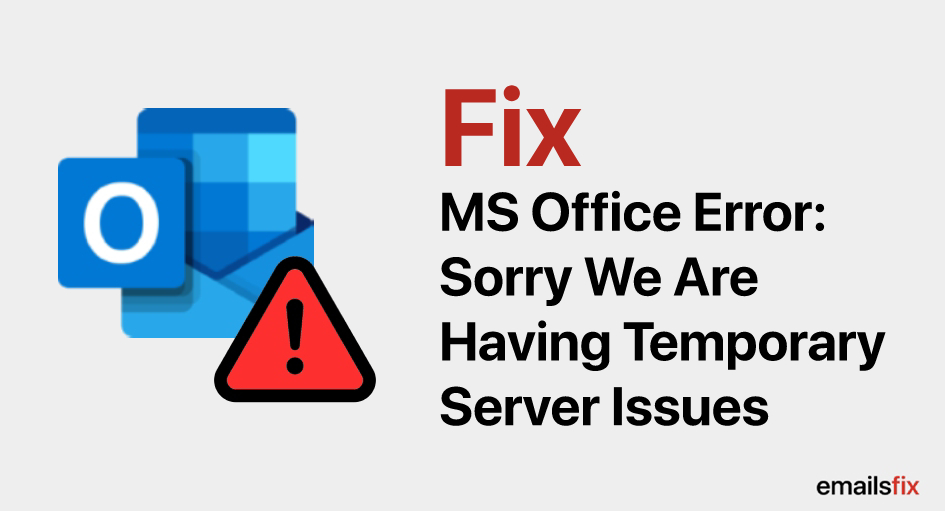 Sorry we are having temporary server