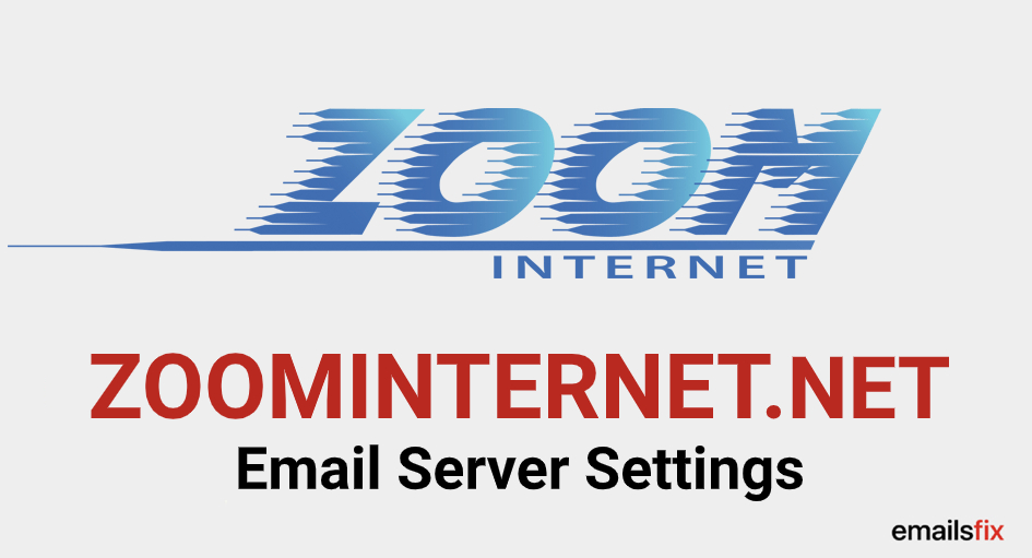 ZOOMINTERNET.NET Email Settings