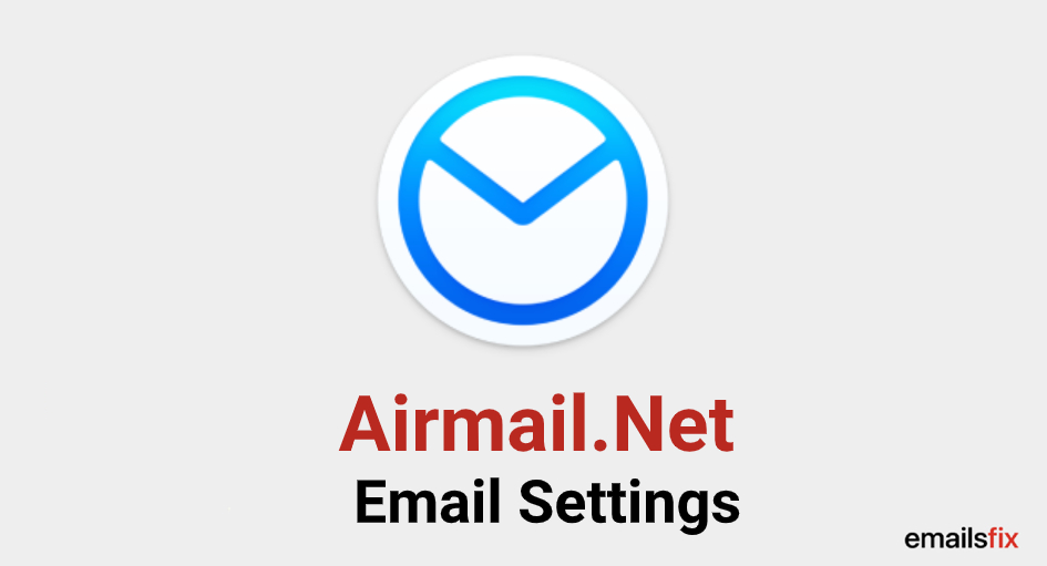 Airmail.Net Email Settings