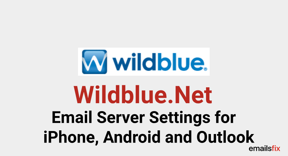 wildblue net email server settings
