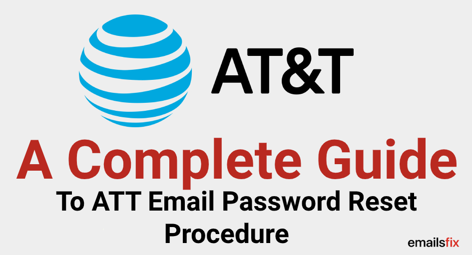 att email password reset
