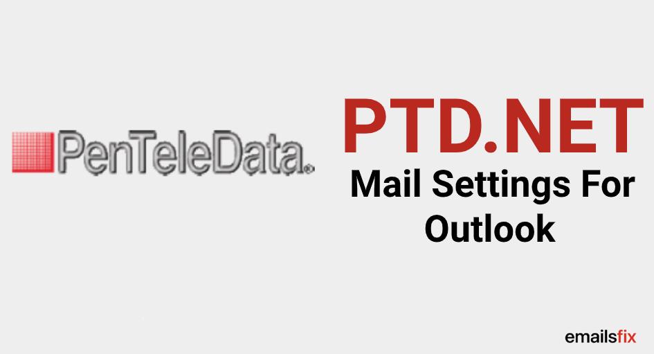 ptd.net outlook settings