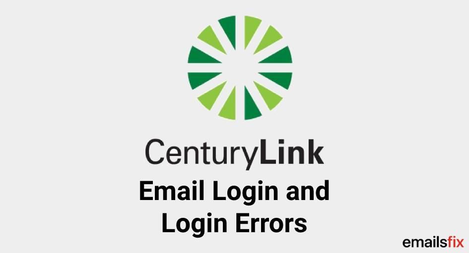 CenturyLink Email Login