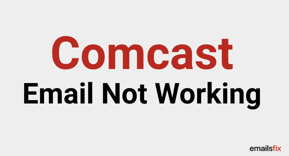 Comcast Email Not Working on iPhone